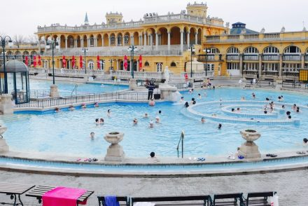 bath house in budapest
