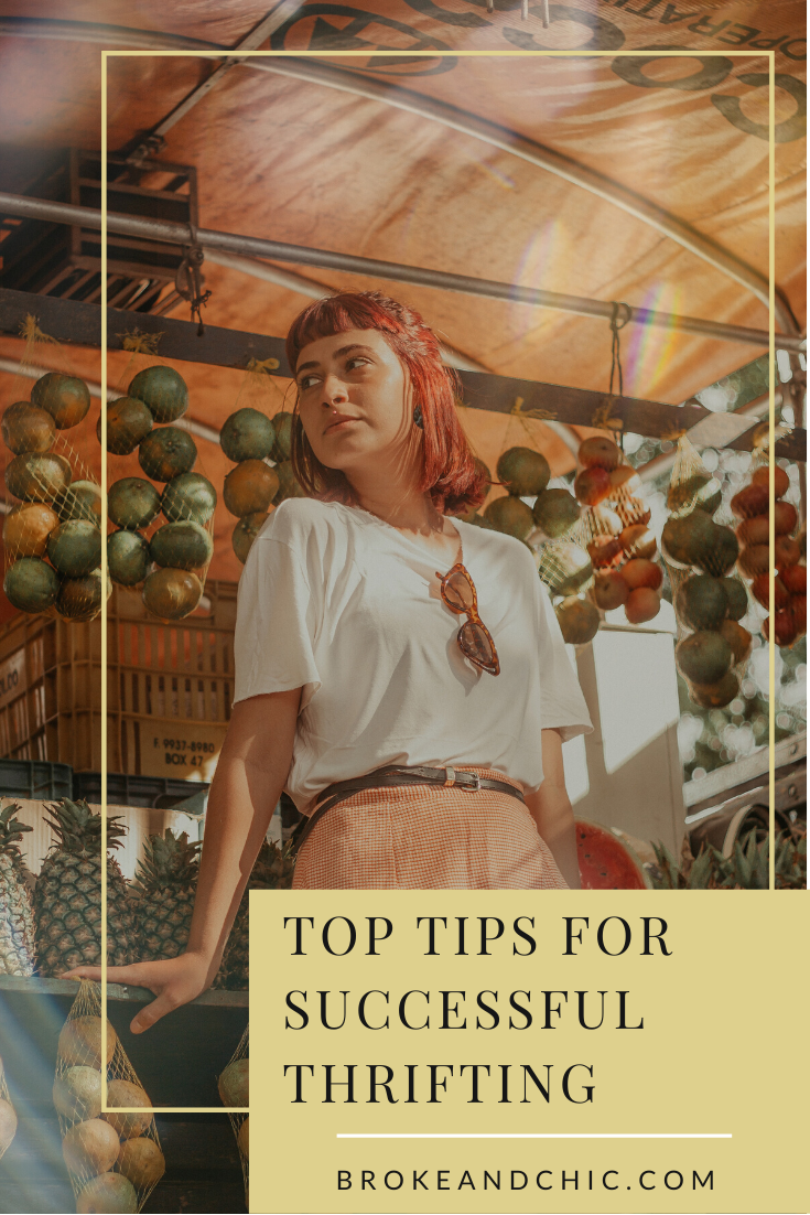 tips for successful thrifting