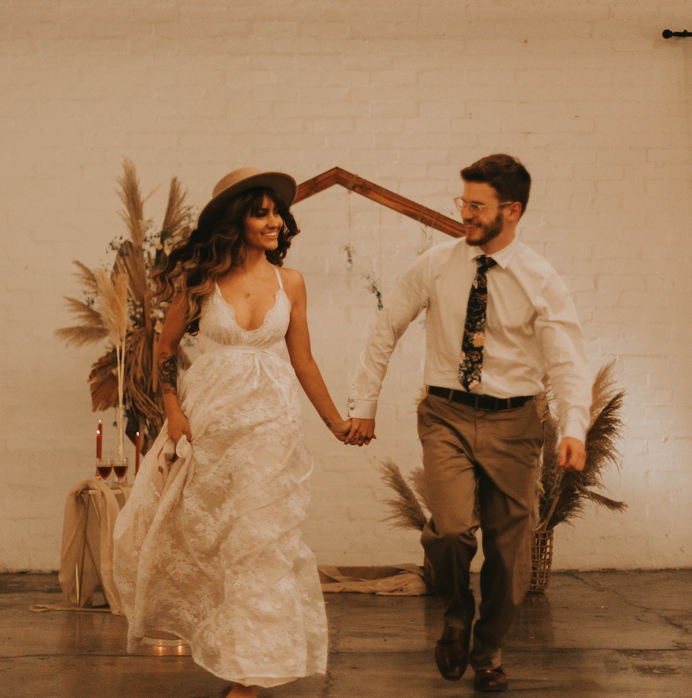 beautiful boho wedding