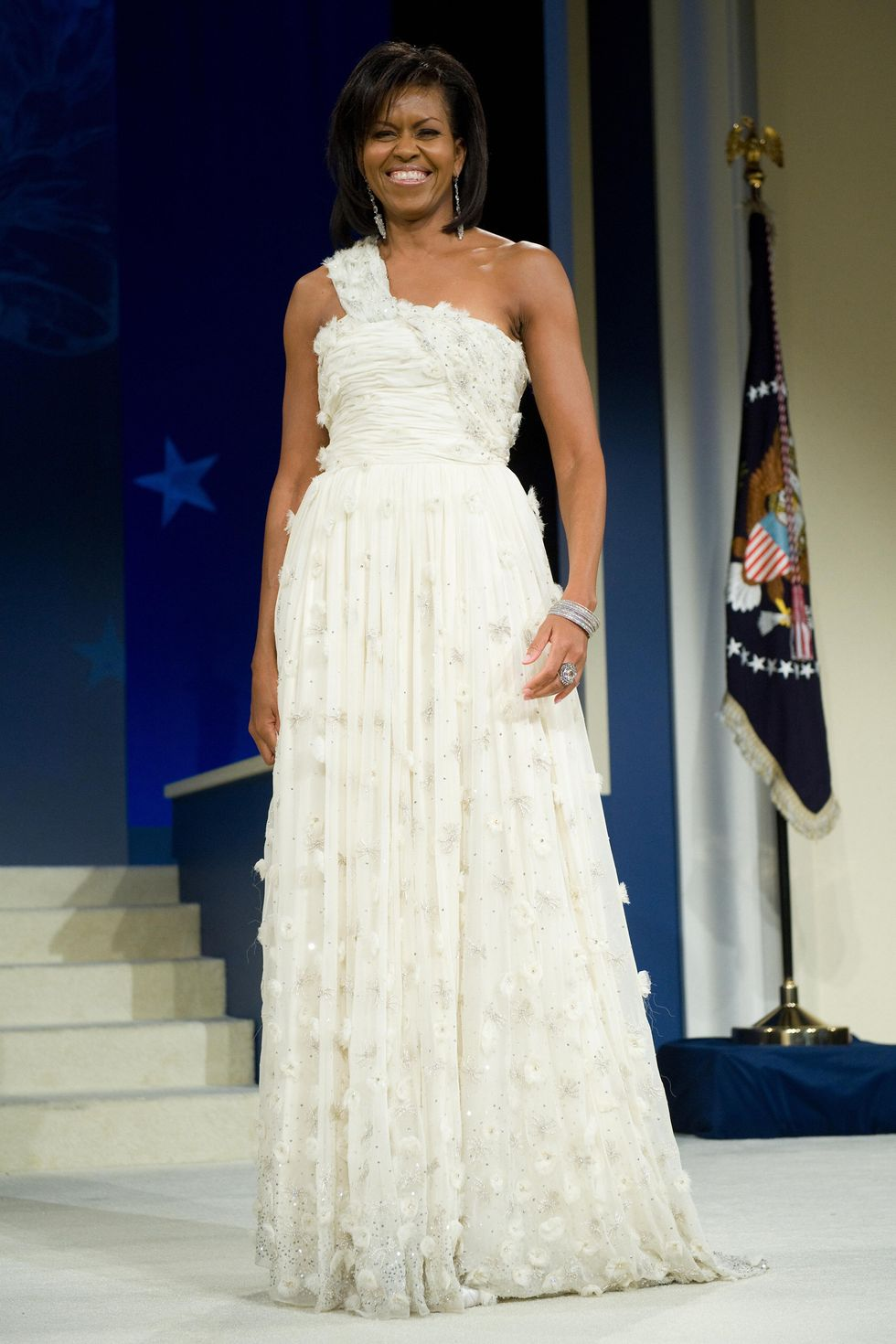 Michelle Obama 2009 Inauguration Ball