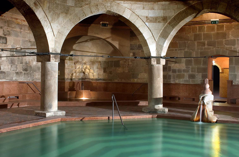 turkish dome rudas baths budapest