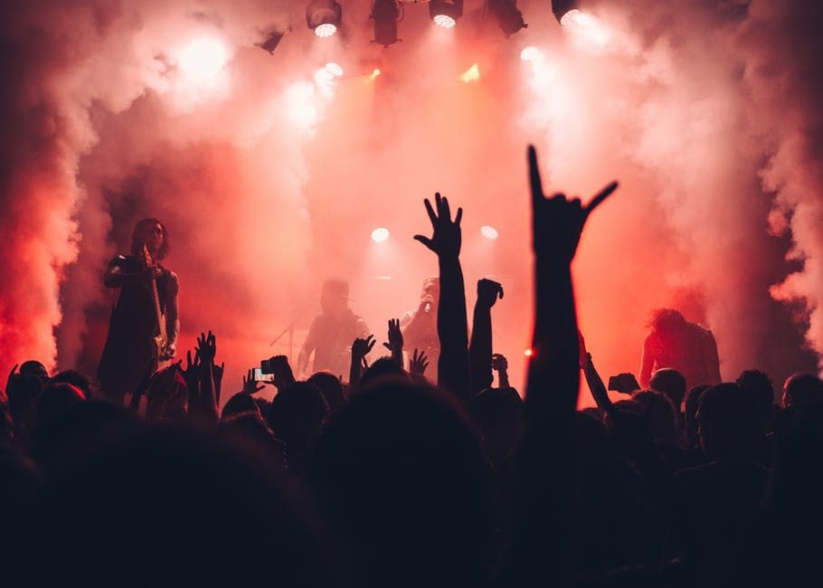 loud concert