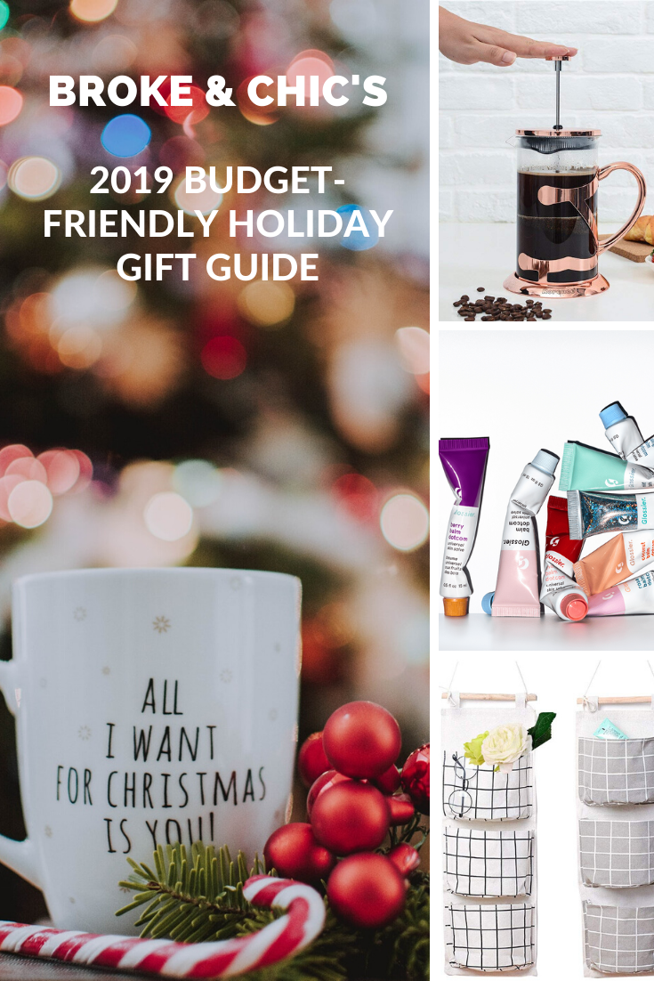 budget friendly gift guide