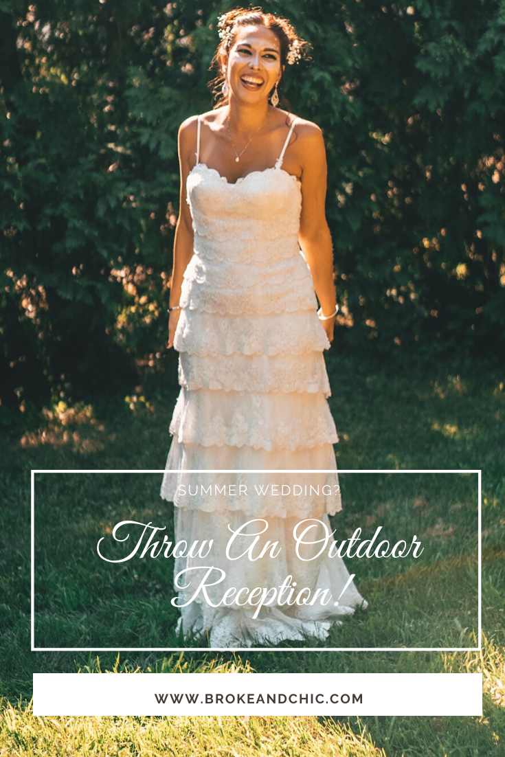 affordable outdoor wedding