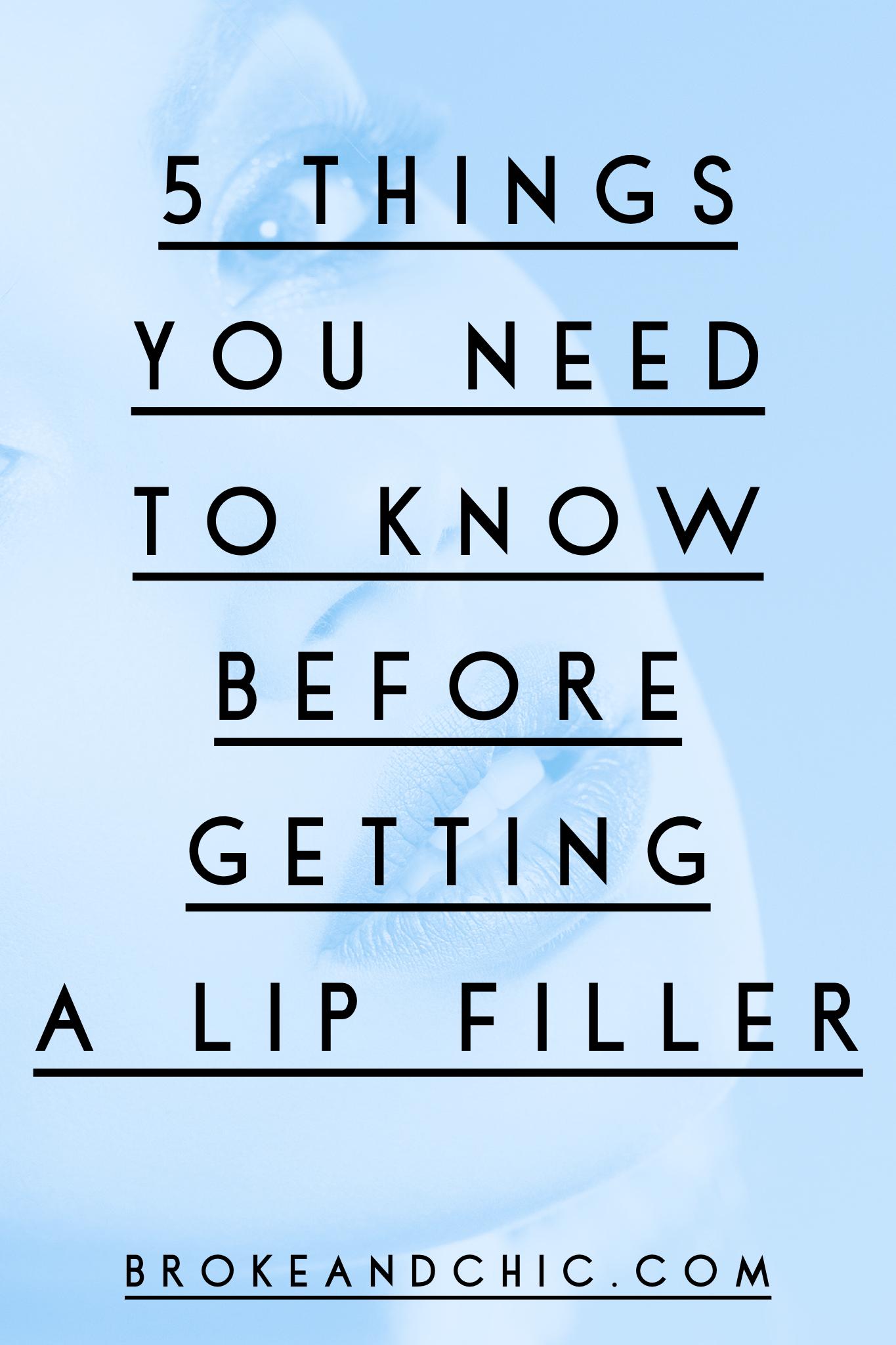 lip filler information