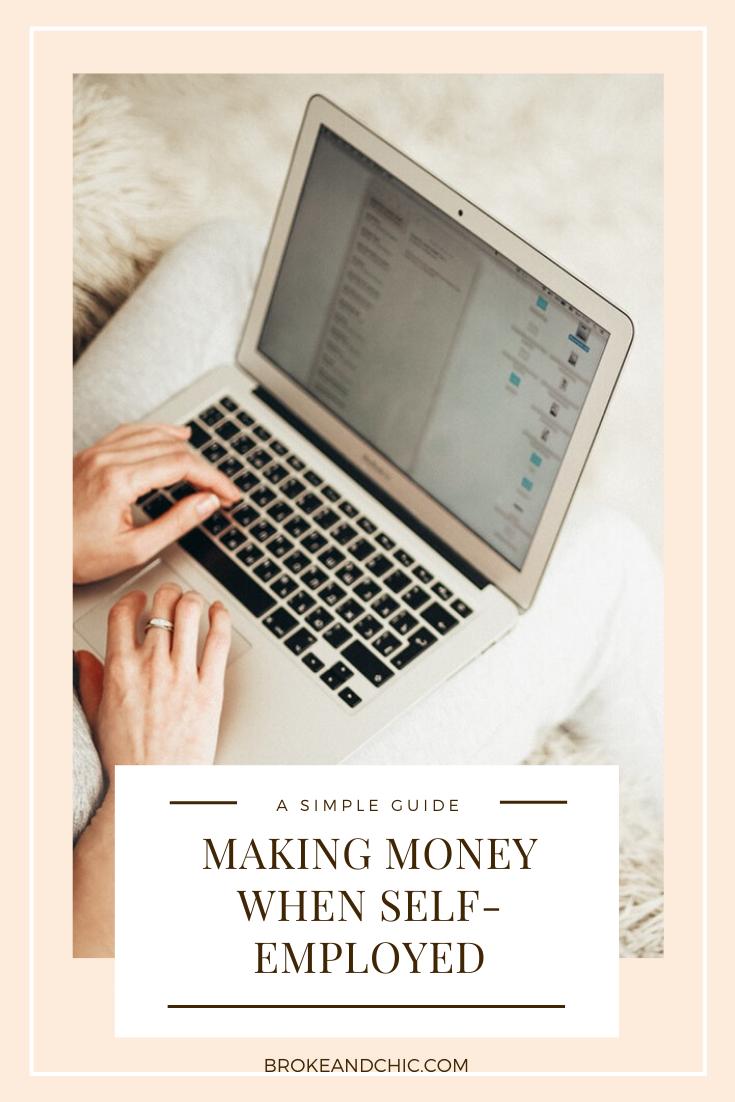 making money self employeed