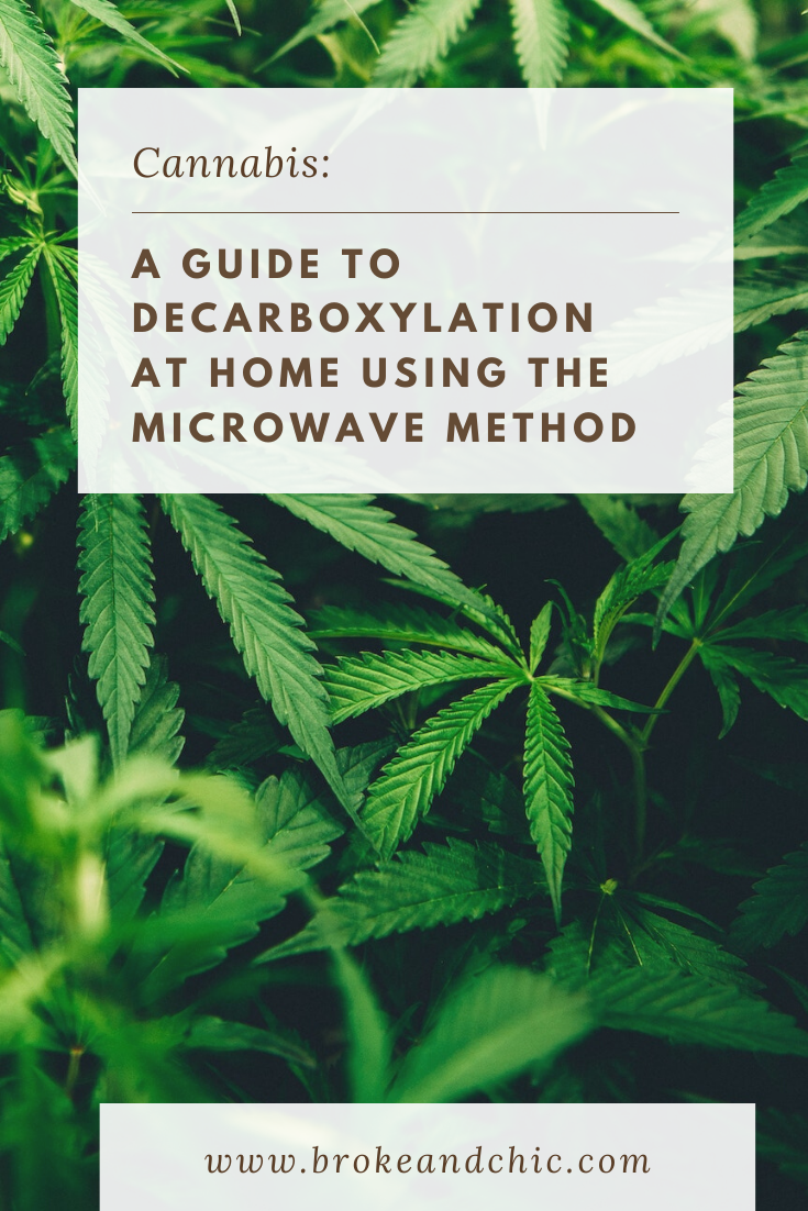 decarboxylation marijuana for edibles