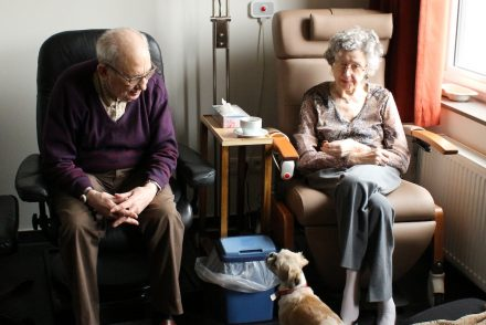 couple in nursing home