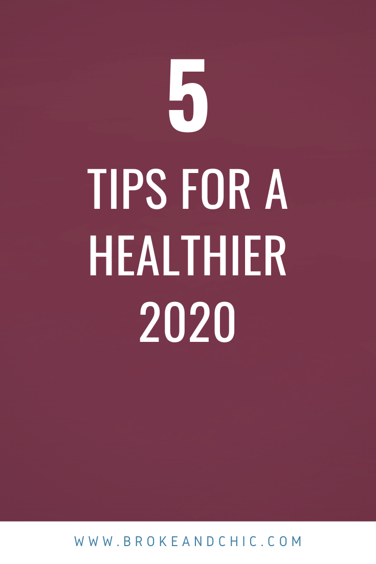 5 Steps to a Happier and Healthier You in 2020