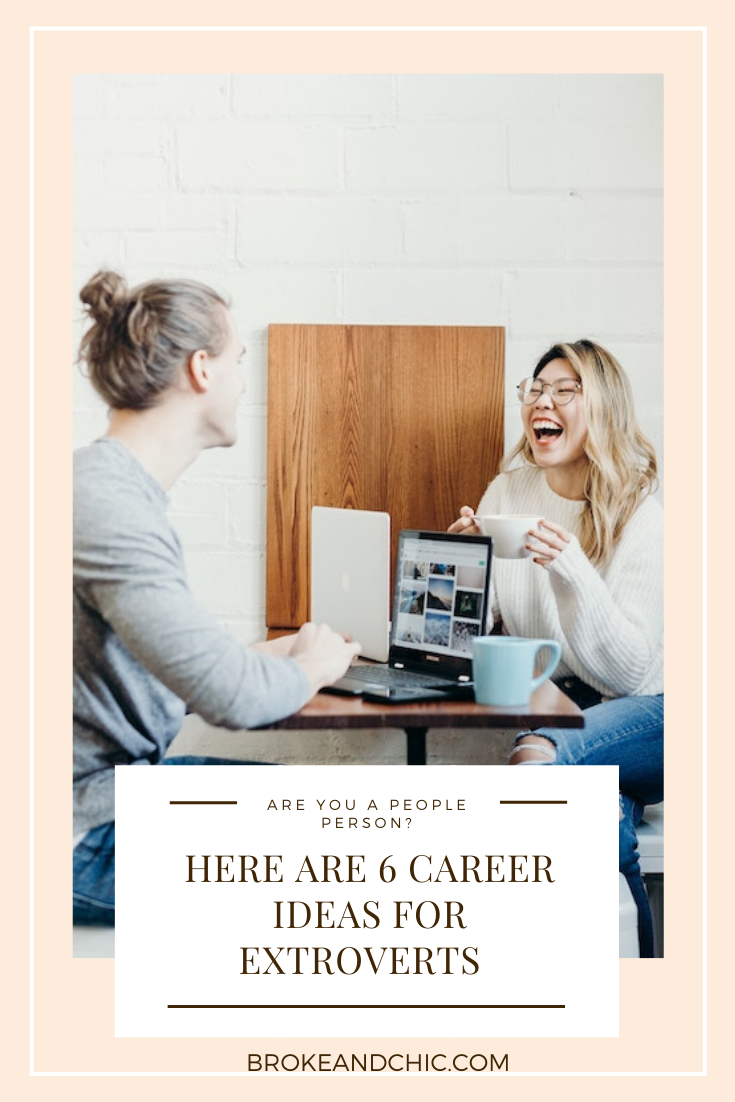 career ideas for extroverted people