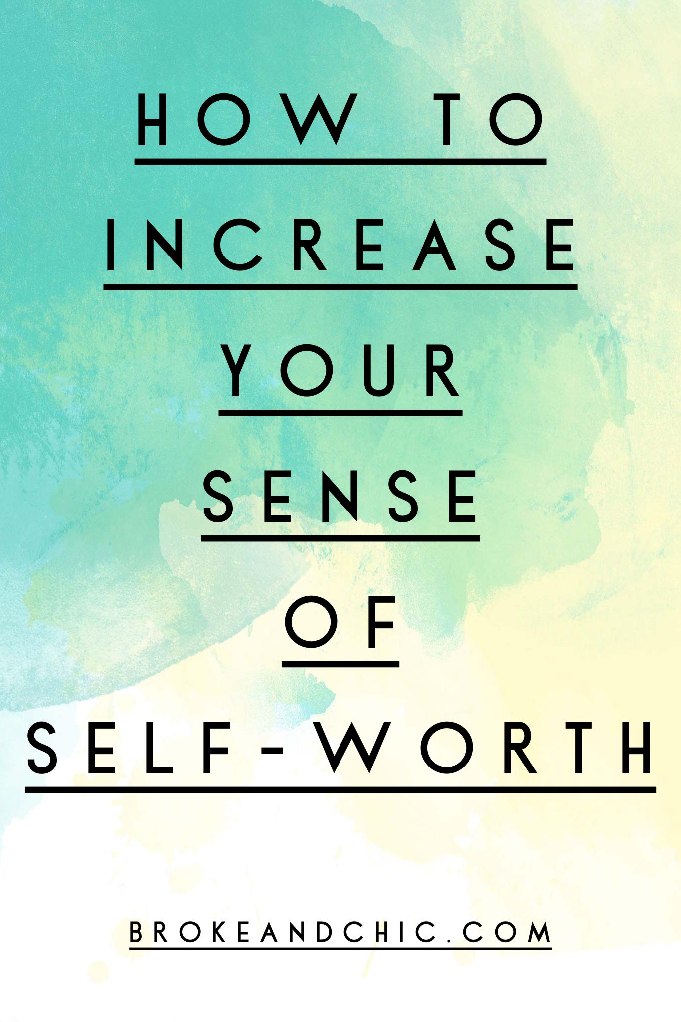 self-worth tips