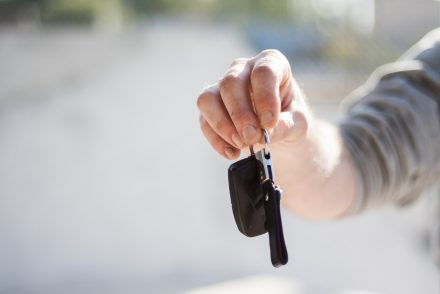 keys to a new car