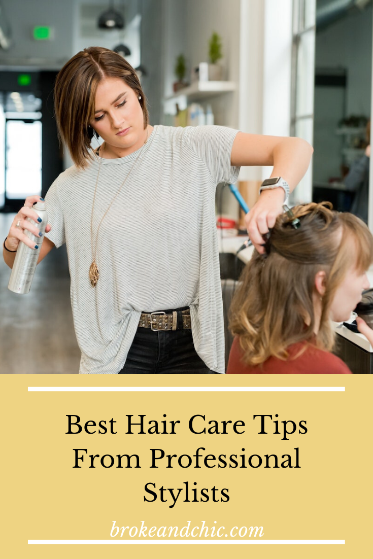 Best Hair Care Tips From Professional Stylists