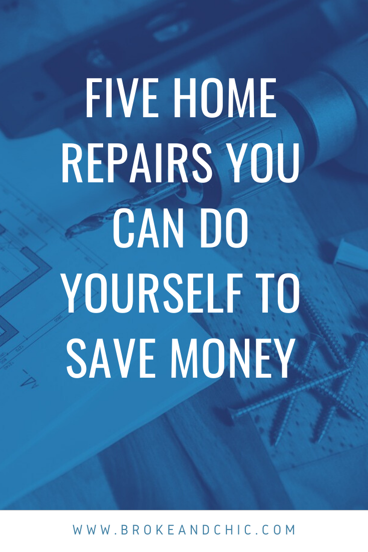 Home Repairs You Can Do Yourself to Save Money