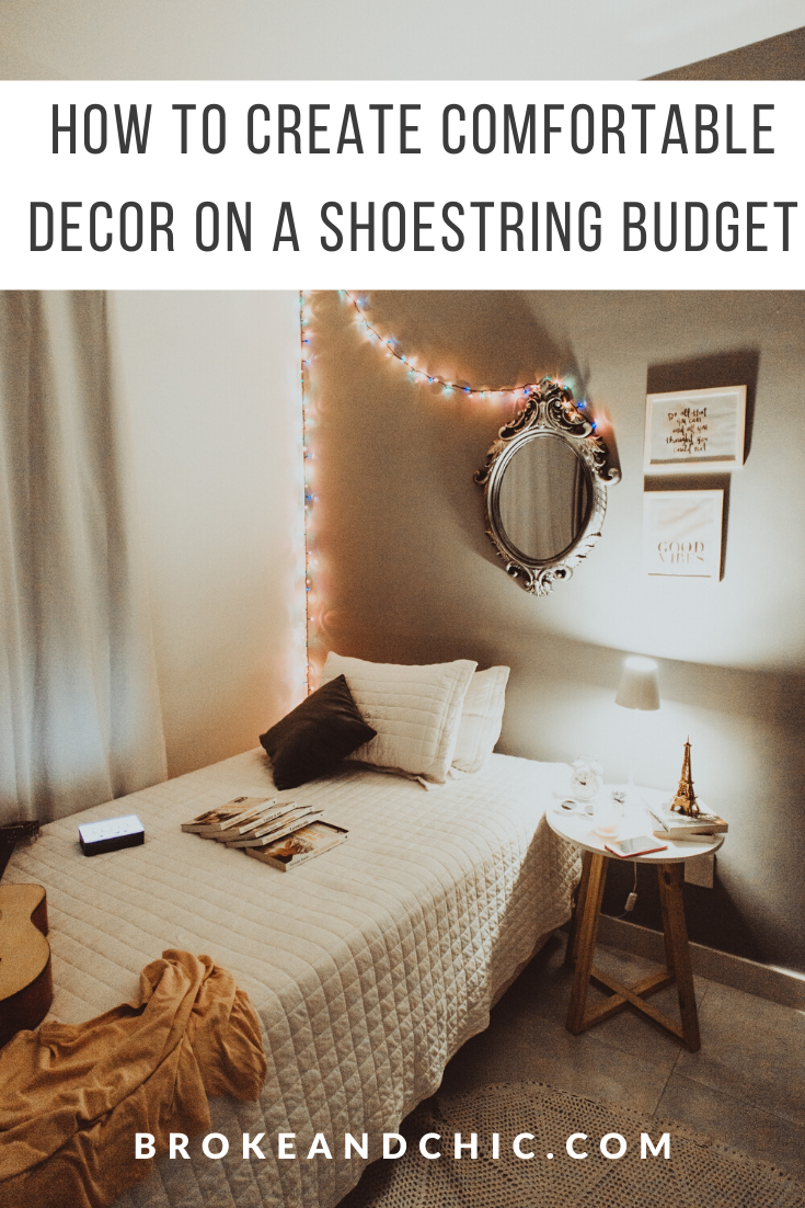 Comfortable Decor on a Shoestring Budget