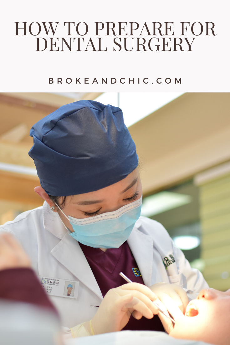 how to prepare for dental surgery