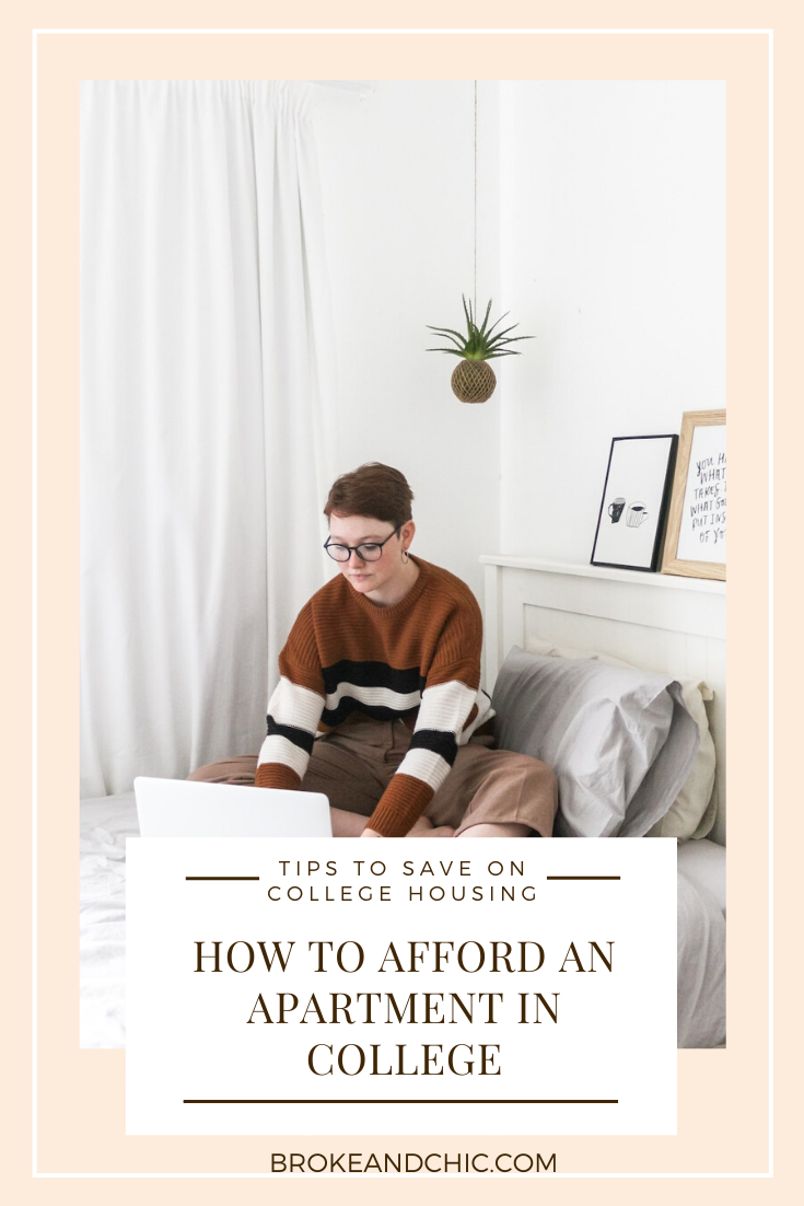 save on college housing