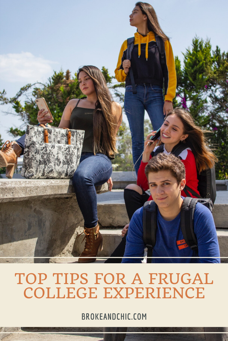 Top Tips for a Frugal College Experience