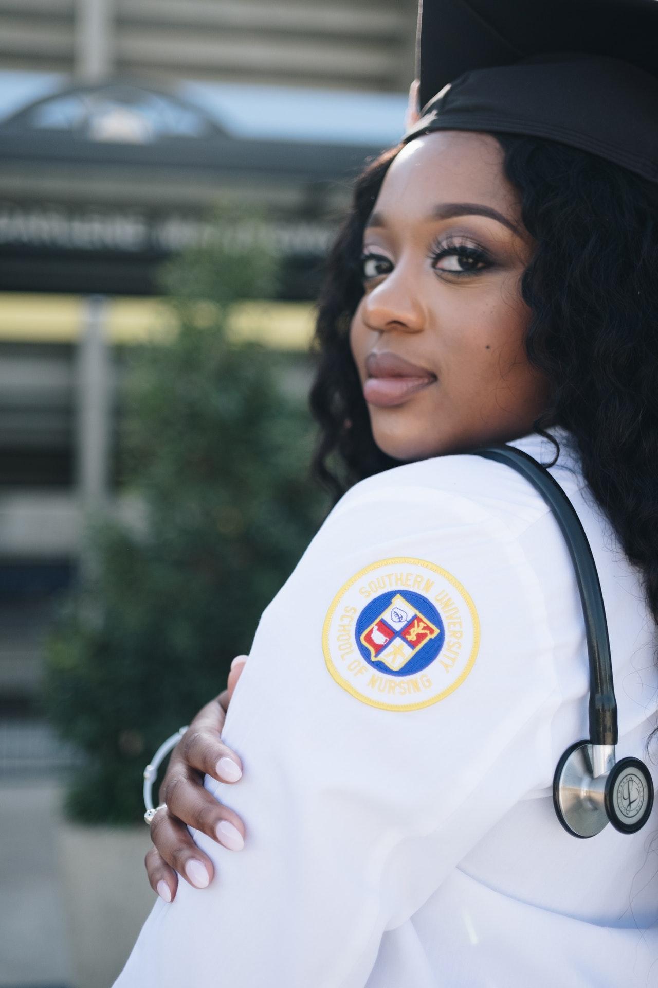 graduation from nursing school