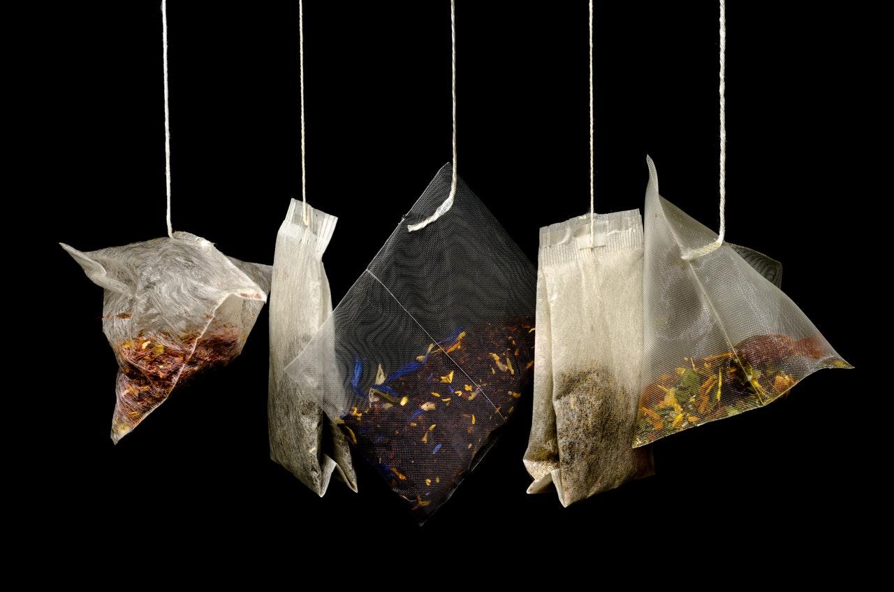 artful tea bags