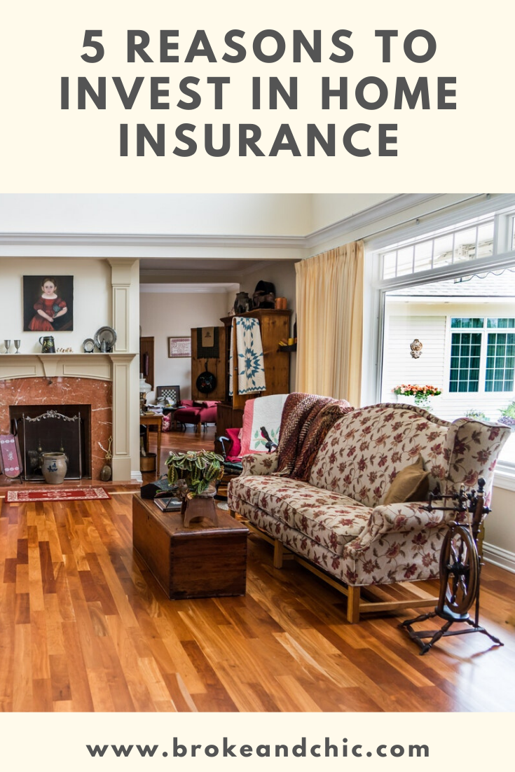 Reasons To Invest In Home Insurance