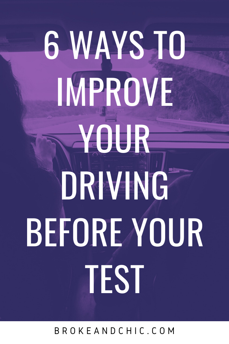 Ways to Improve Your Driving Before Your Test