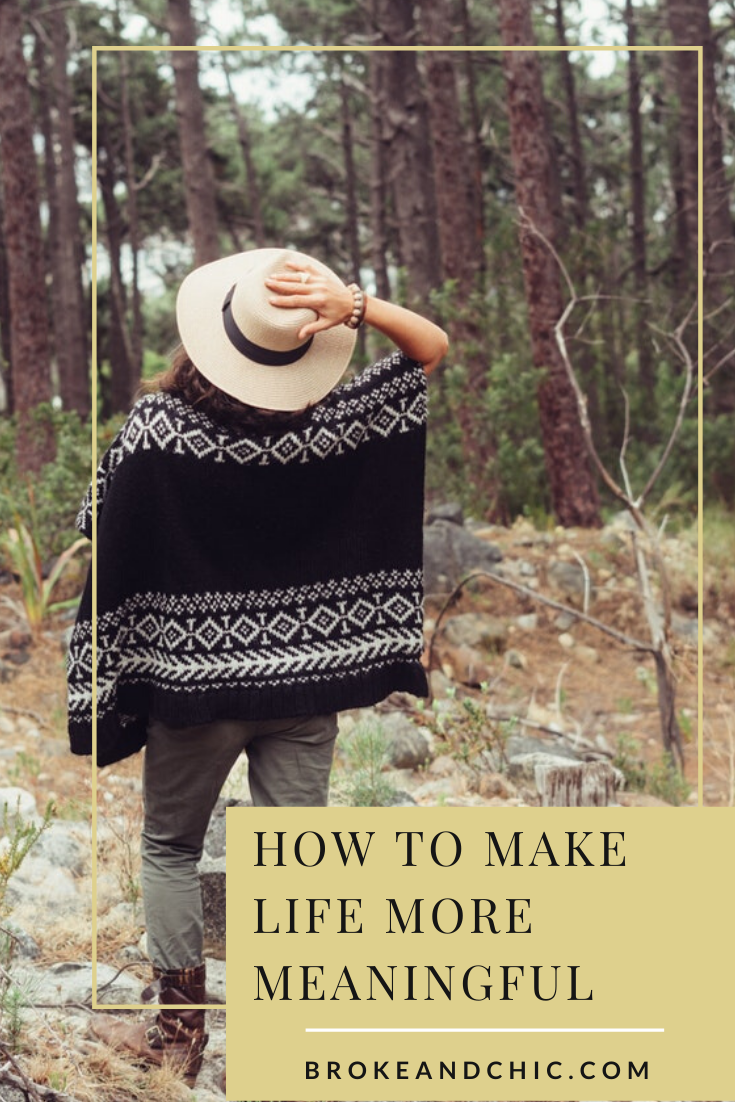 How to Make Life More Meaningful