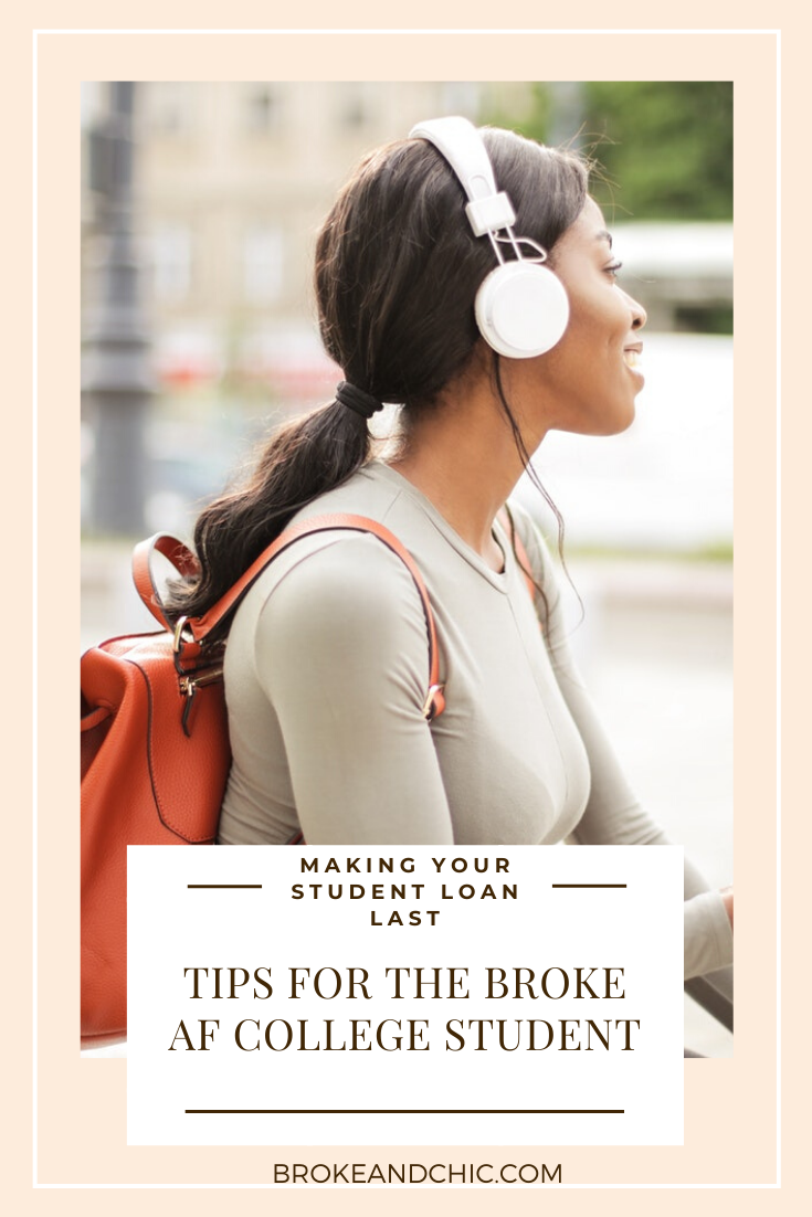 Making your student loan last