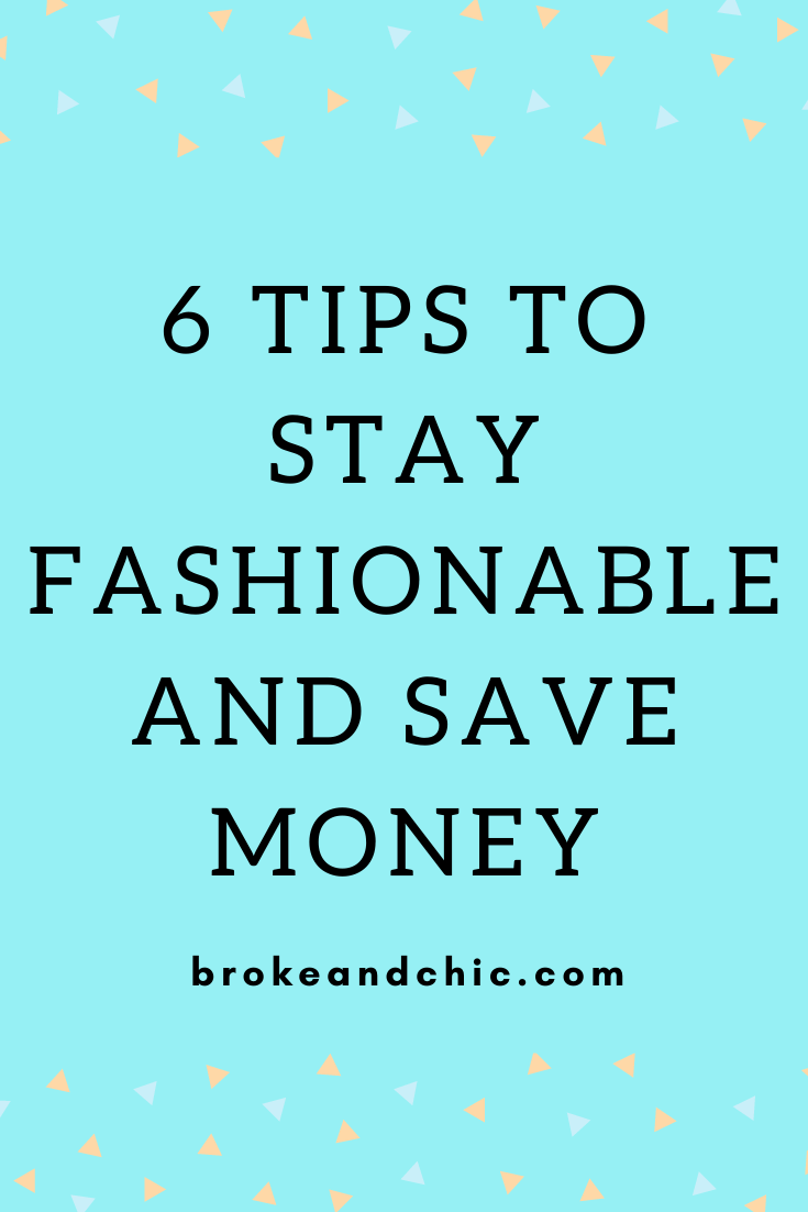 how to be fashionable and not in debt
