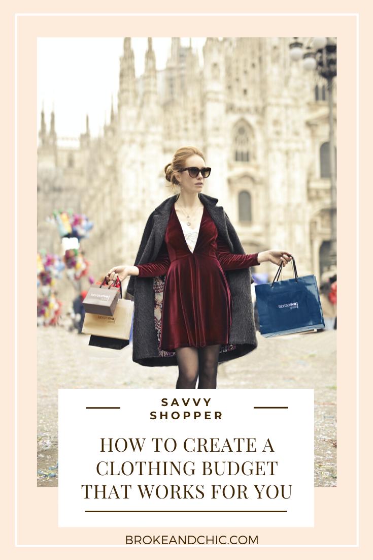 clothing budget advice