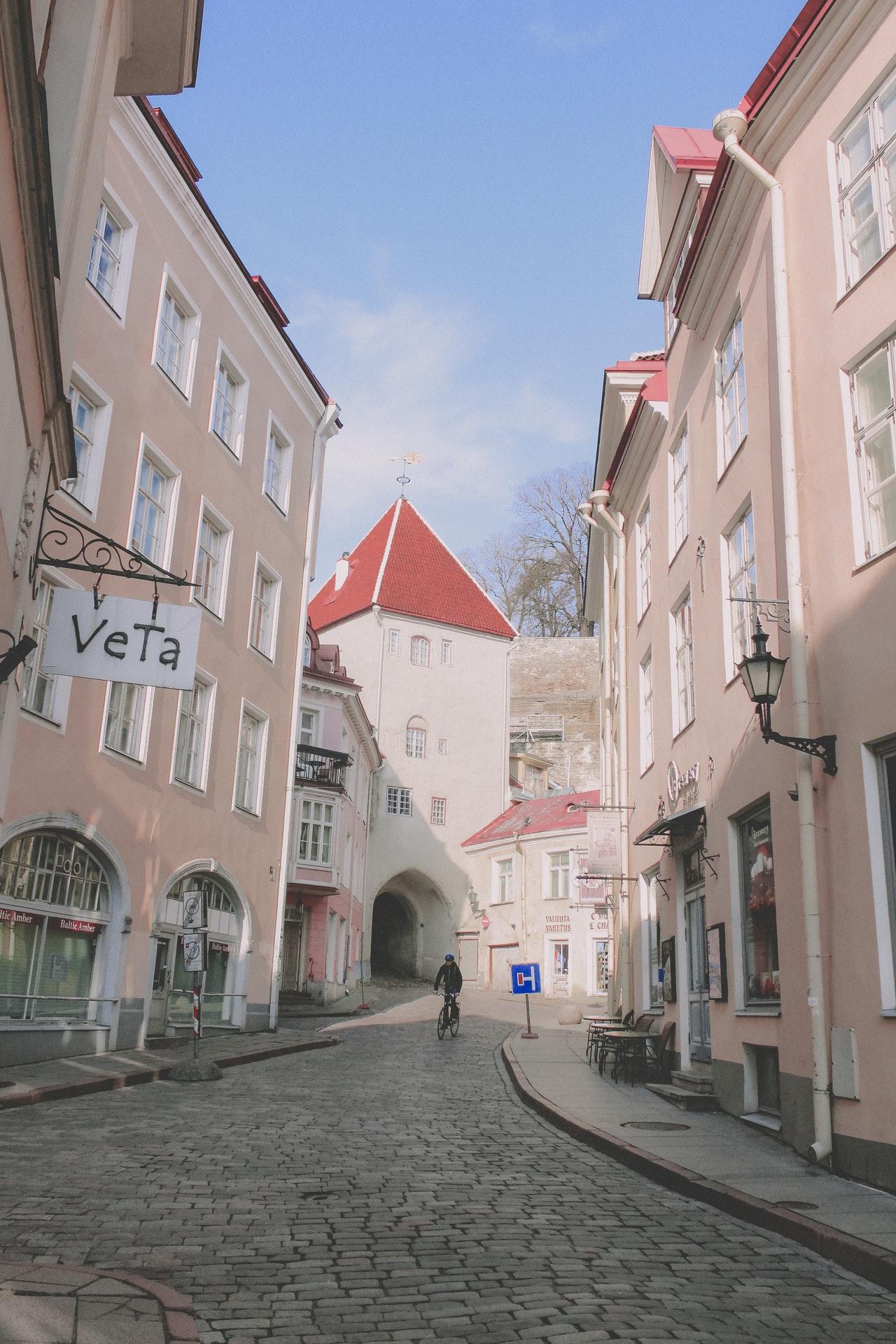 old town Tallinn estonia