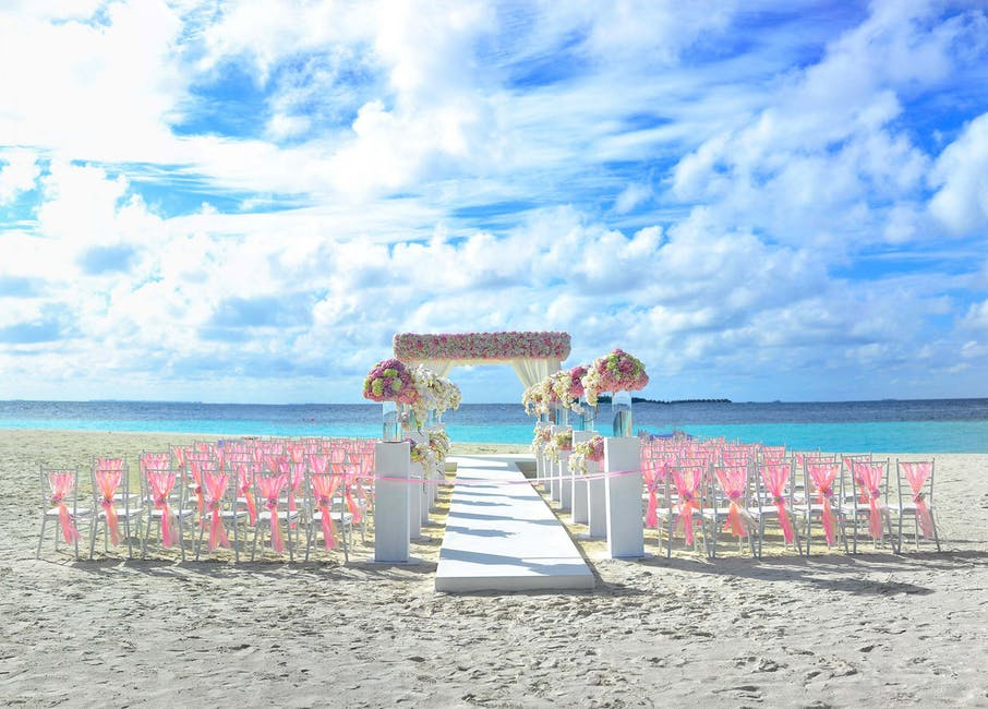 outdoor beach wedding