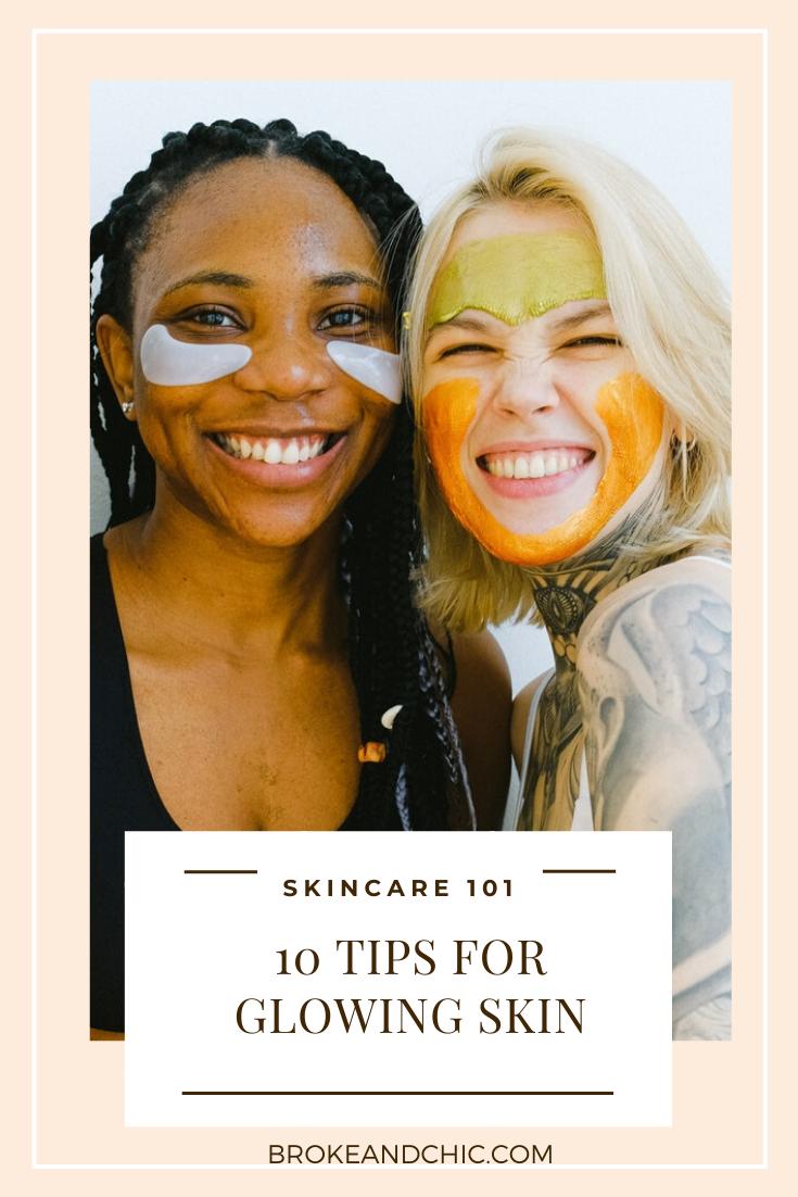 skincare tips pinterest