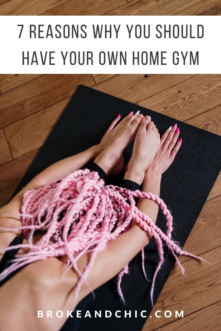 home gym perks