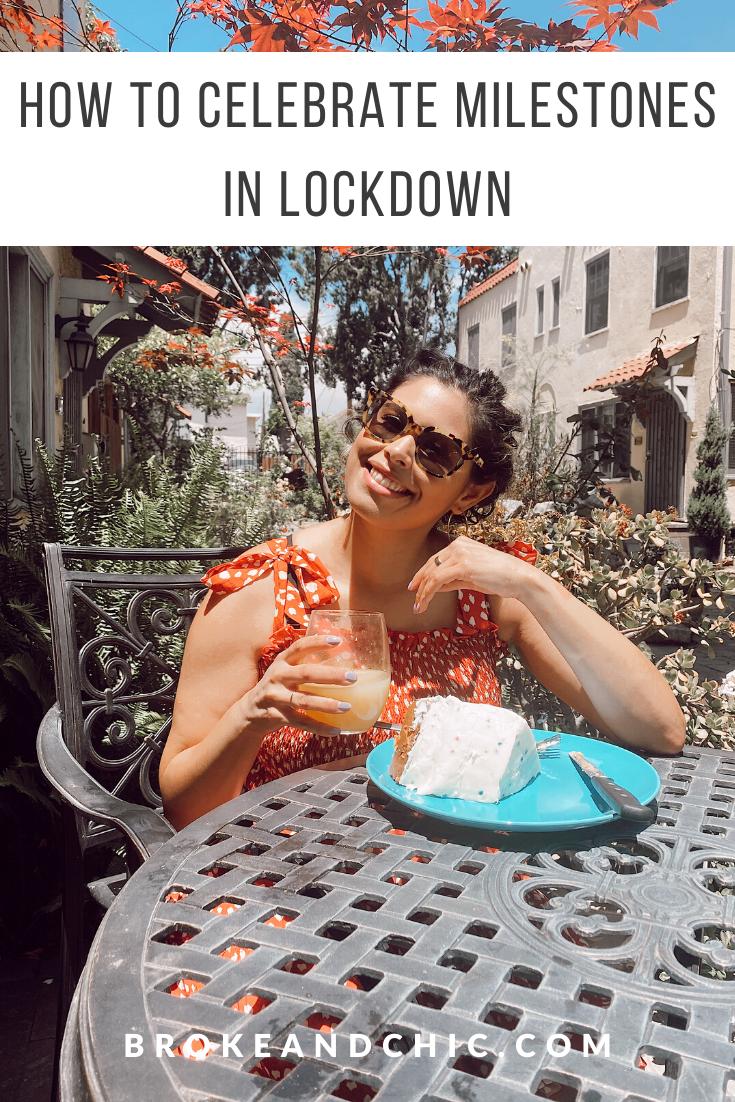 how to celebrate in lockdown