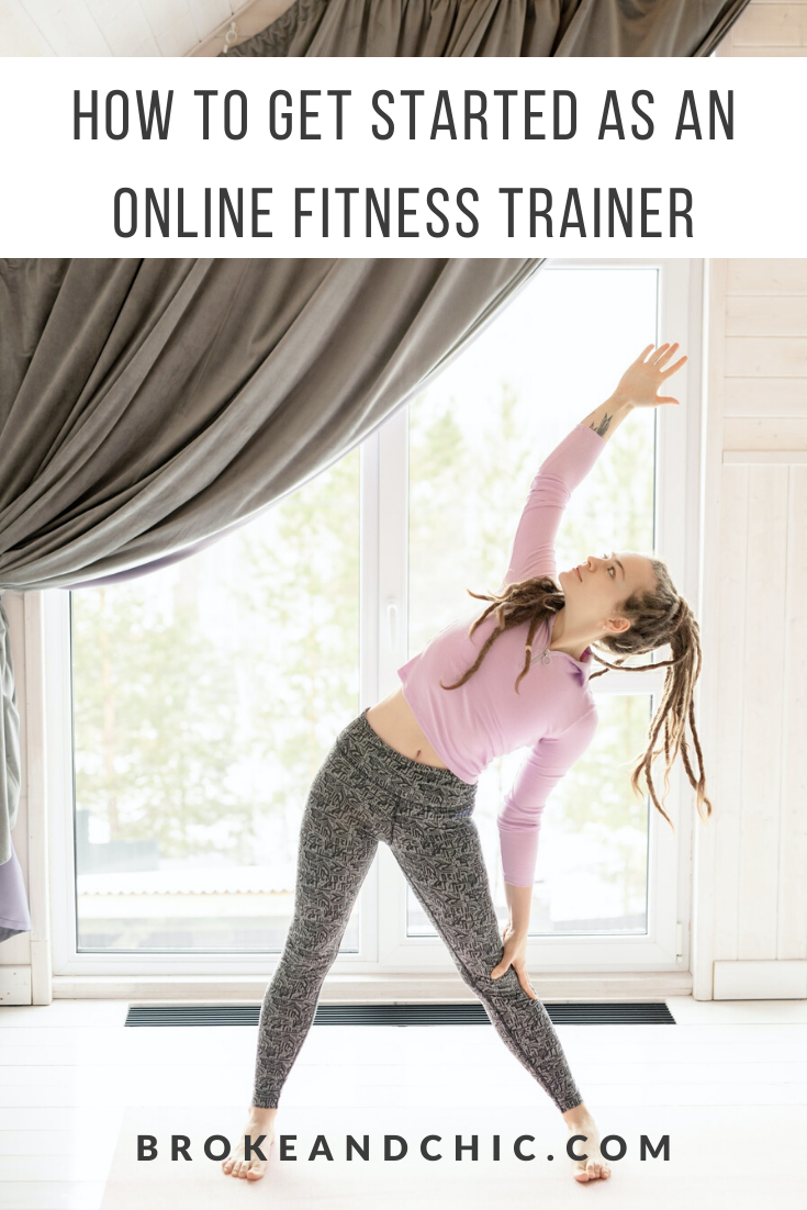 starting online fitness business