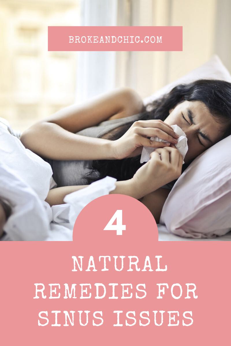 natural remedies for sinus issues