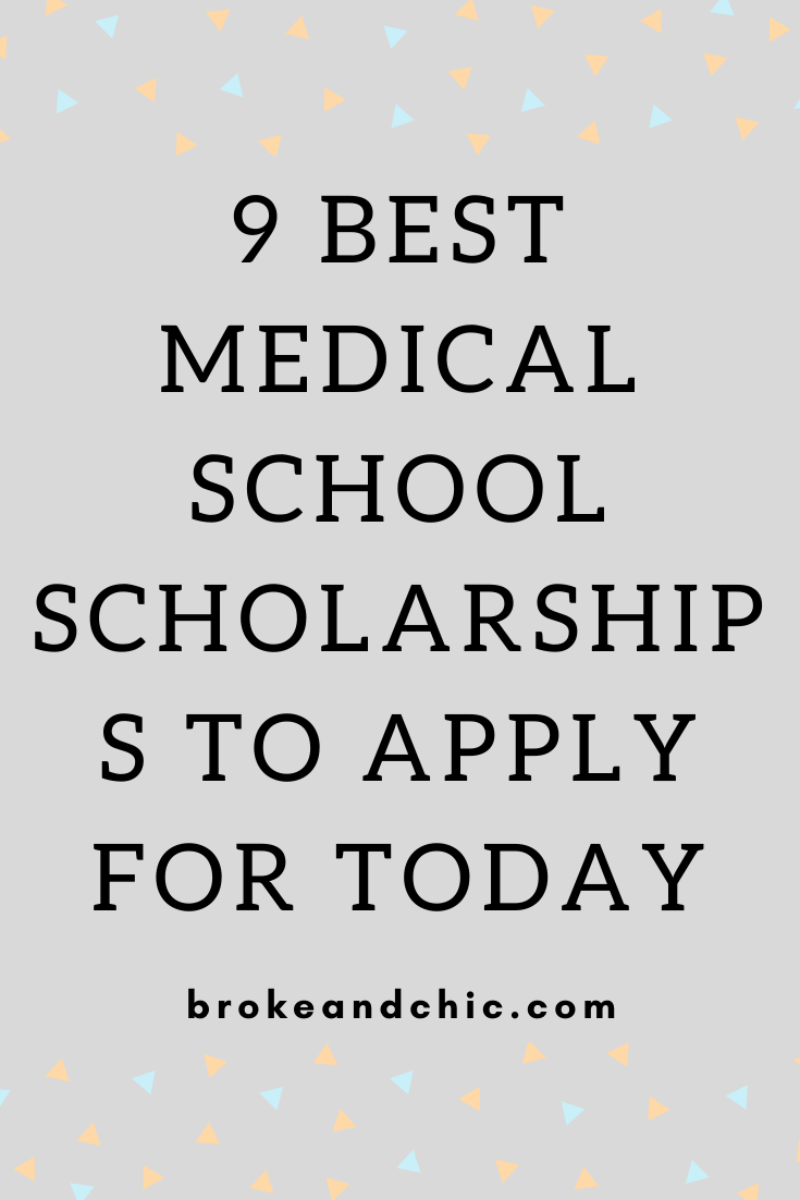 Medical School Scholarships to Apply for