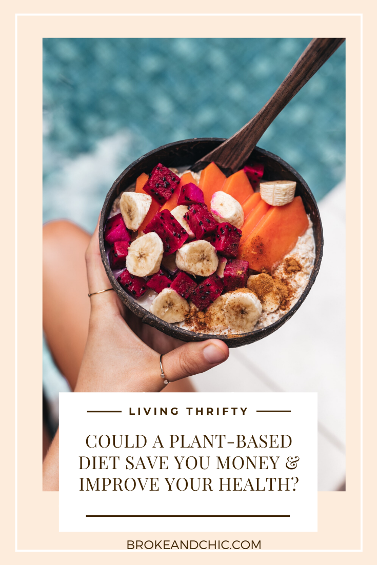 healthy plant-based smoothie bowl