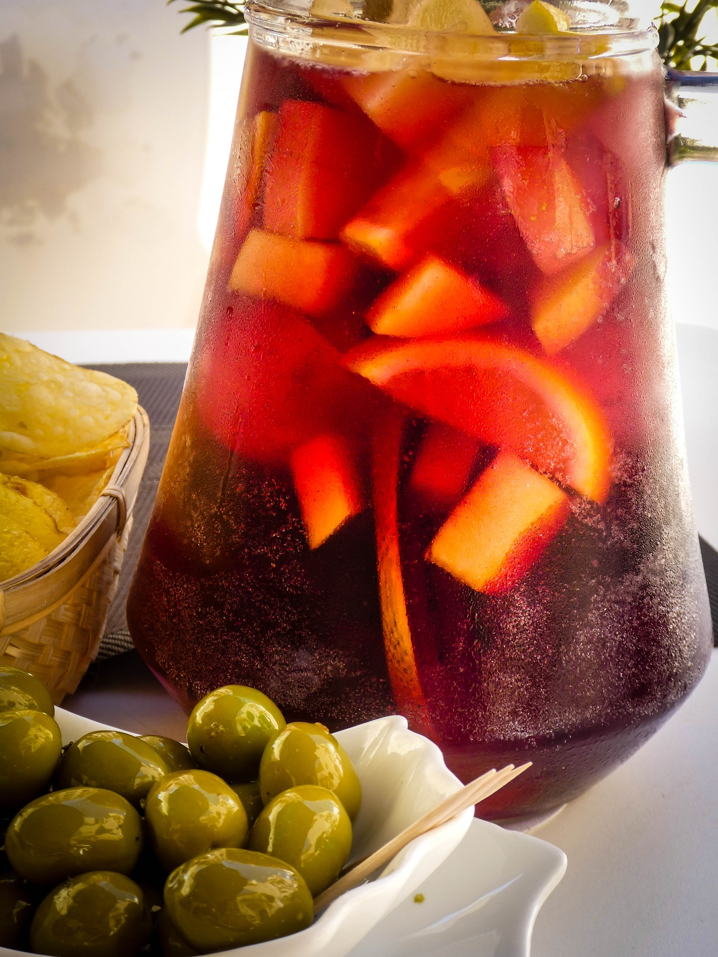 Easy red sangria recipe for summer