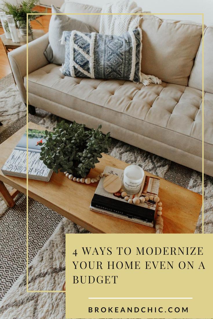 beige couch modern