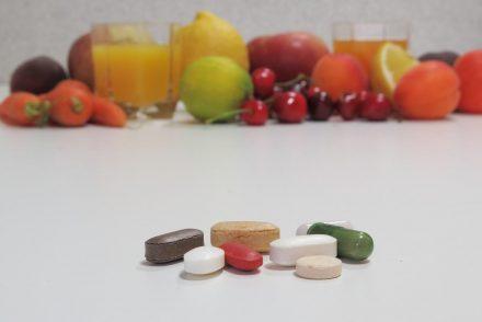 pile of vitamins