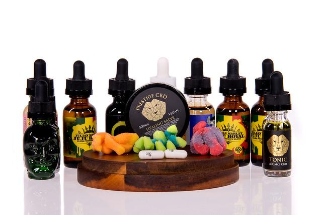 cbd salves and gummies