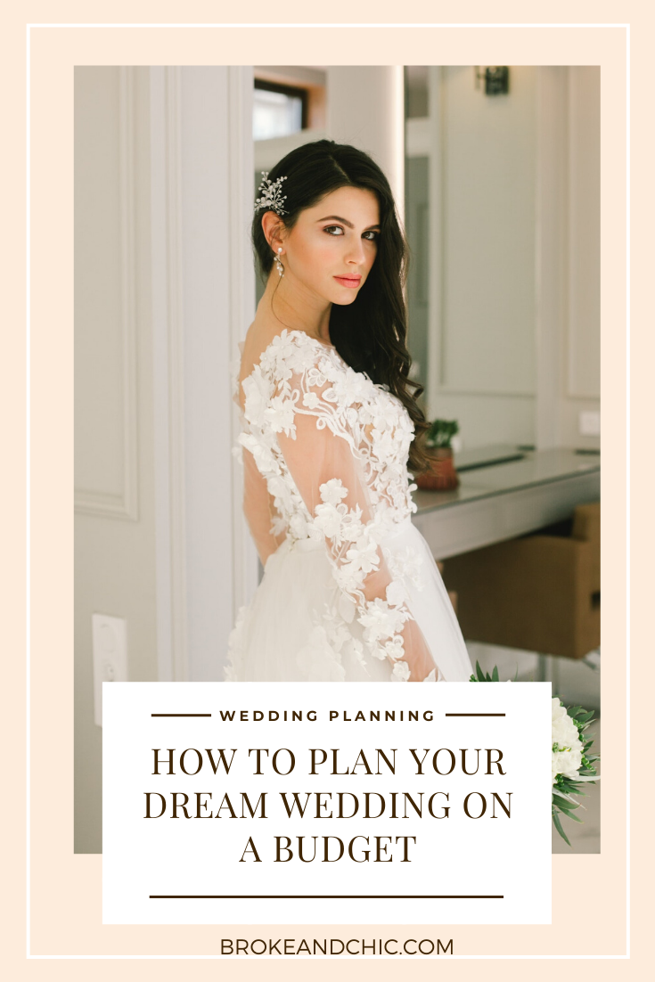 how to have an affordable wedding
