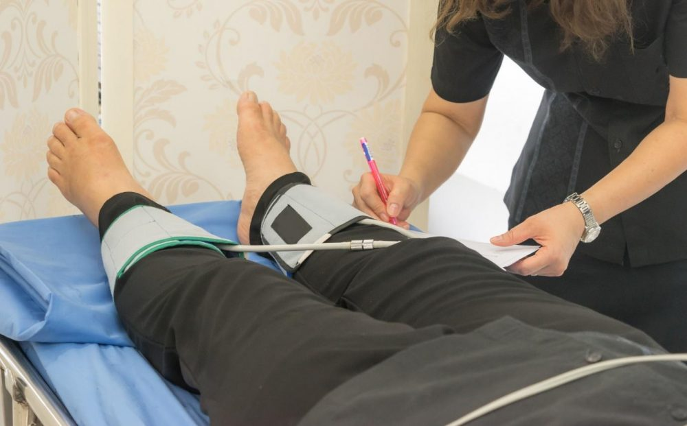 leg blood pressure