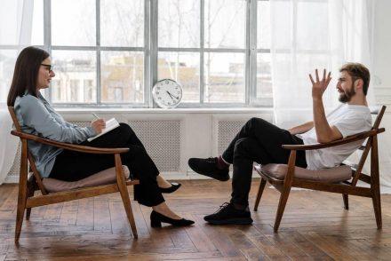 therapist session