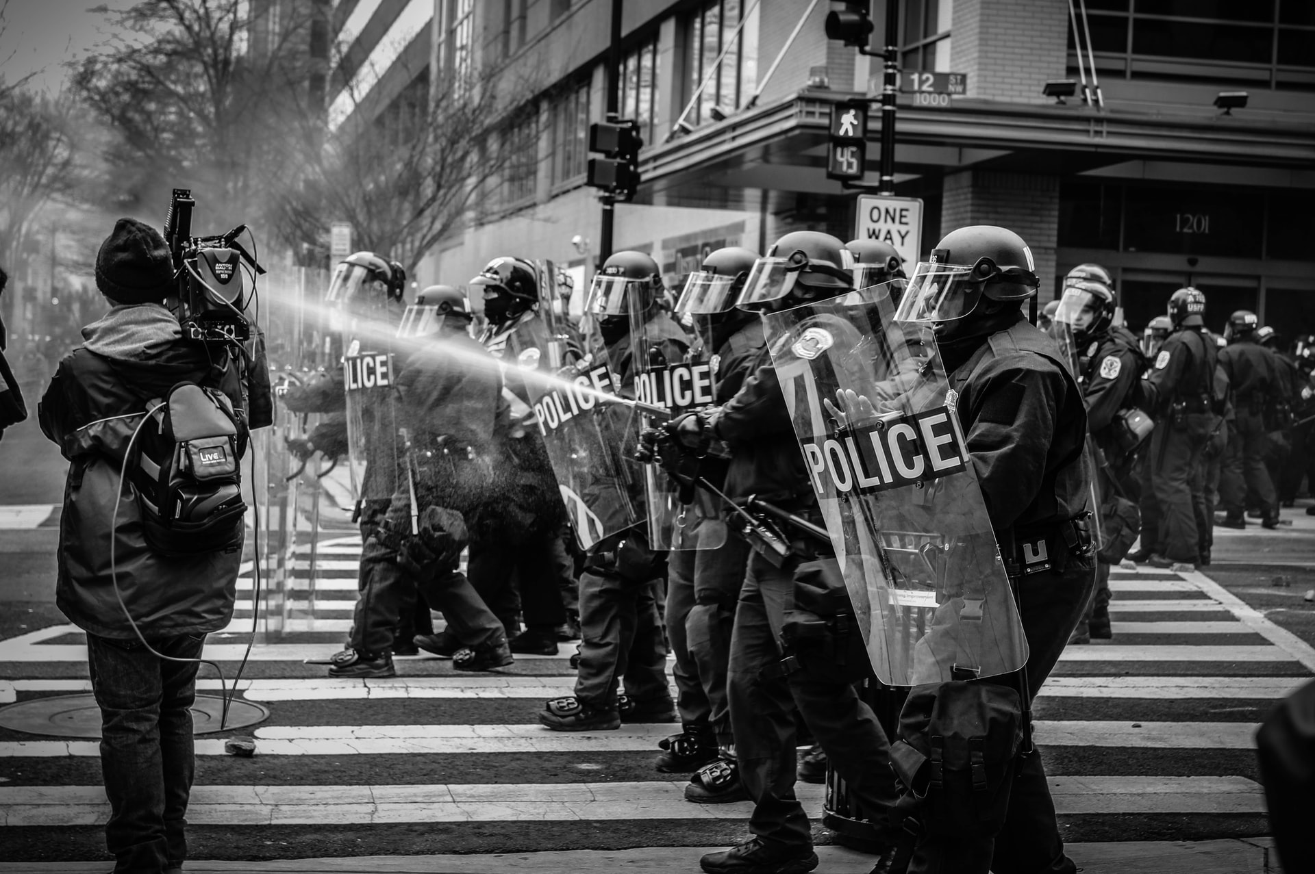 BLM Protest police brutality