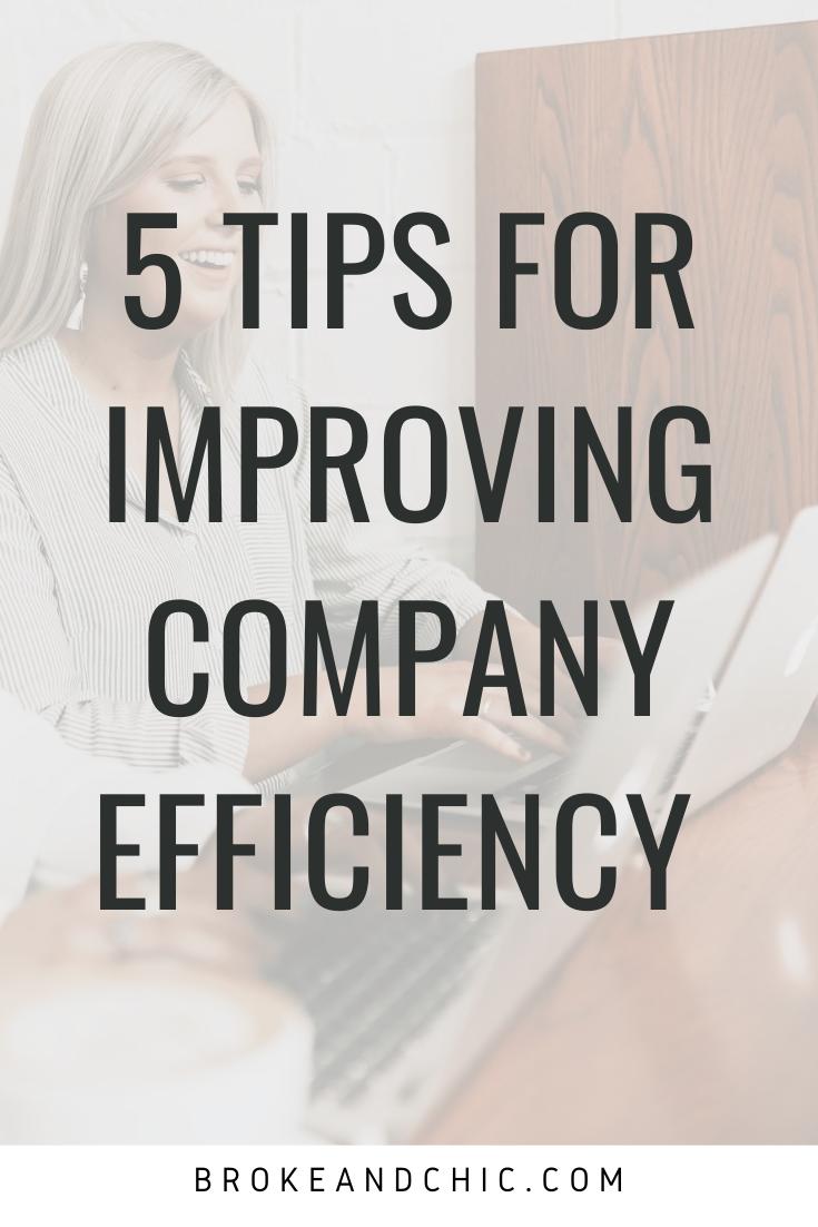 company efficiency