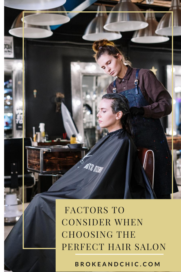 how to find perfect hair salon