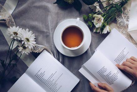 tea and books